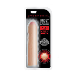 CyberSkin 3in Xtra Thick Uncut Ext Light