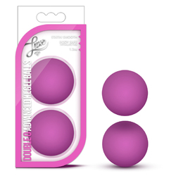 Luxe - Double O Adv Kegel Balls - Pink