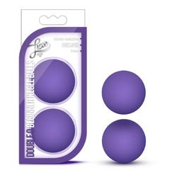 Luxe - Double O Beg Kegel Balls - Purple