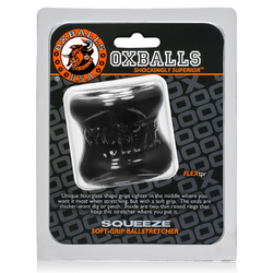 OxBalls Squeeze, Ball Stretcher, Black