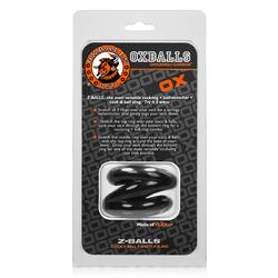 OxBalls Z-Balls, Ballstretcher, Black
