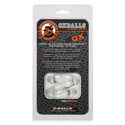 OxBalls Z-Balls, Ballstretcher, Clear