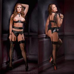 Lust Fetish Delilah Black XL