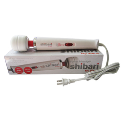Shibari My Wand 2X Plug in White