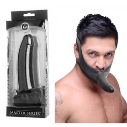 Masters Face Fuk Strap On Mouth Gag
