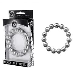 Masters Meridian Steel Beaded C-ring 2in