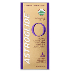 Astroglide O Massage Oil 4oz