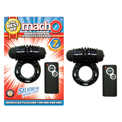 The Best Of Macho W/L RC Cock Ring Blk