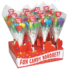 Eat Me Assorted Roses 12pc Display