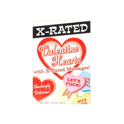 Valentine Heart X-Rated Message