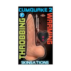 Skinsations Cum Quake 2 RC Dildo