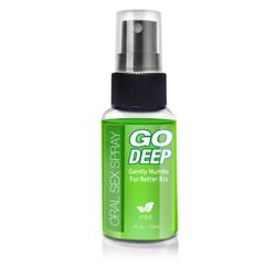 Go Deep Oral Sex Spray Mint 1 fl oz
