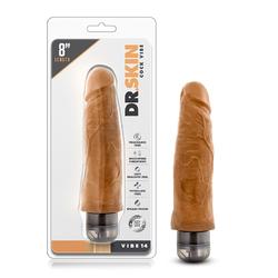 Dr. Skin - Cock Vibe 8in Vib Cock Mocha