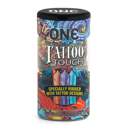 ONE Tattoo Touch Condom 12pk