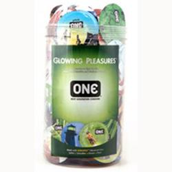 ONE Glowing Pleasure Jar (100ct)