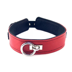 Rouge Plain Collar Red