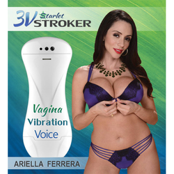 3v Talking/Vibe Starlet Stroker Ariella