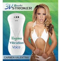 3v Talking/VibeStarlet Stroker Carmen V