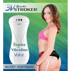 3v Talking/Vibe Starlet Stroker Nickey H