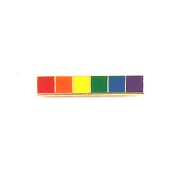 GS Lapel Pin - Rainbow Bar