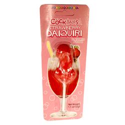 Strawberry Daquiri Cocktail Sucker