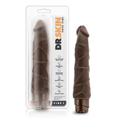 Dr. Skin - Cock Vibe - Vibe 1 Chocolate