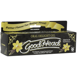 GoodHead Oral Delight Gel 4oz French Van