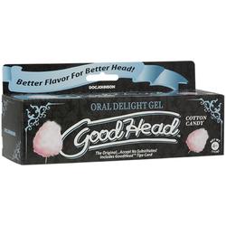 GoodHead Oral Delight Gel 4oz Cttn Candy