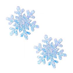 Neva Nude Pasty Snowflake Glitter Frost