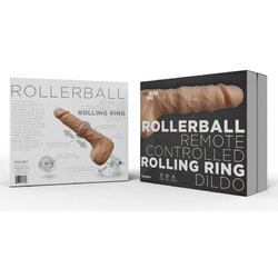 Rollerball Dildo With Suction Cup Base