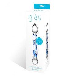 Glas 6.5in Full Tip Textured Glas Dildo