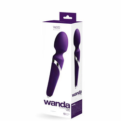 VeDO Wanda Rechg Wand Vibe - Deep Purple