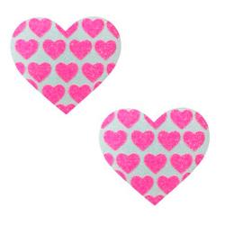 Neva Nude Pasty Hearts On Heart UV Ne Pk