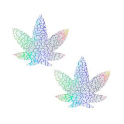 Neva Nude Pasty Weed Leaf Synaptic Glow