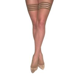 Kixies Samantha Nude Fishnet Size B