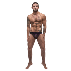 MP Airotic Mesh Enhancer Thong Black LX