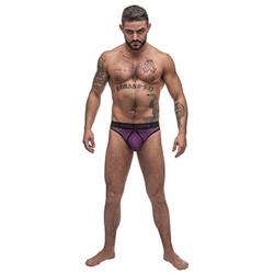MP Airotic Mesh Enhancer Thong Purple LX