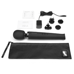 Le Wand Black Rechargeable Massager