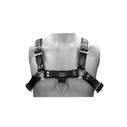 Ouch! Pain - Leather Male Chest Harness