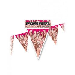 Pecker Fiesta Party Banner 20 Feet