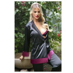 Majorie Cuff Satin Blazier Jacket M/L