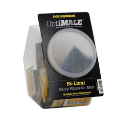 OPTIMALE So Long Delay Wipes 100ct Bowl