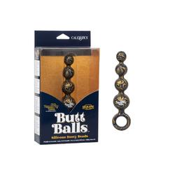 Naughty Bits Butt Balls Sili Booty Beads