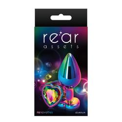 Rear Assets Mulitcolor Heart Med Rainbow