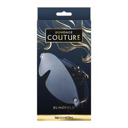 Bondage Couture Blind Fold Blue