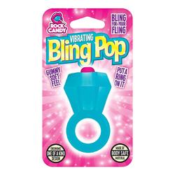 BLING POP RING - BLUE