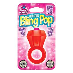 BLING POP RING - RED