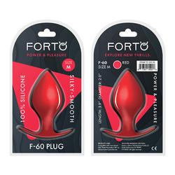 Forto F-60: Spade Med Red