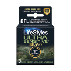 Lifestyles Ultra Sensitive Bravo 3 Pack