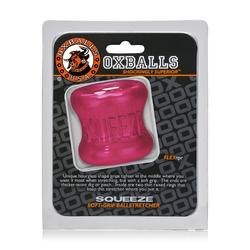 Oxballs Squeeze Ballstretcher Hot Pink